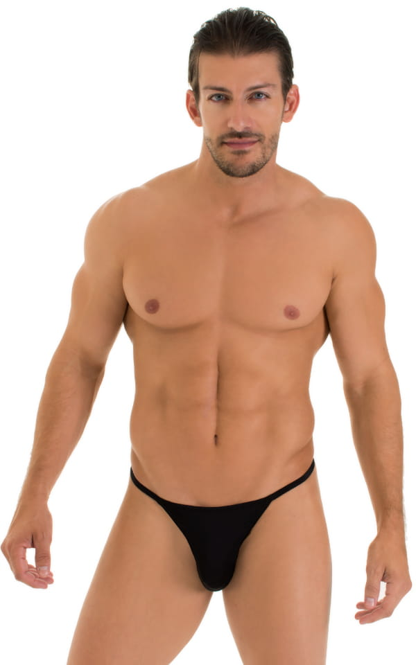 7282cbada6 Y Back G String Thong in Super ThinSKINZ Black | Skinzwear.com