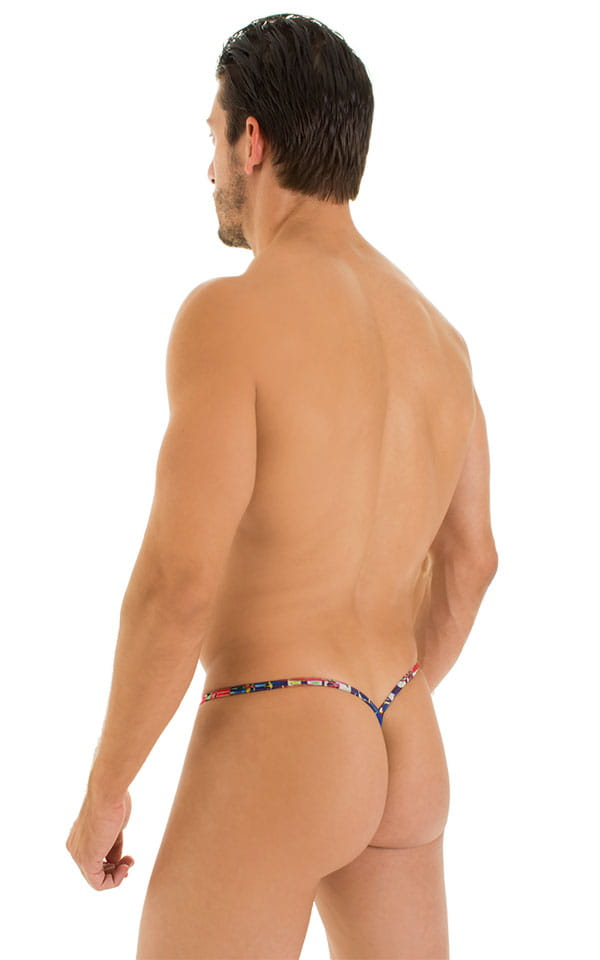 Y Back G String Thong in Tan Through Frequency 3