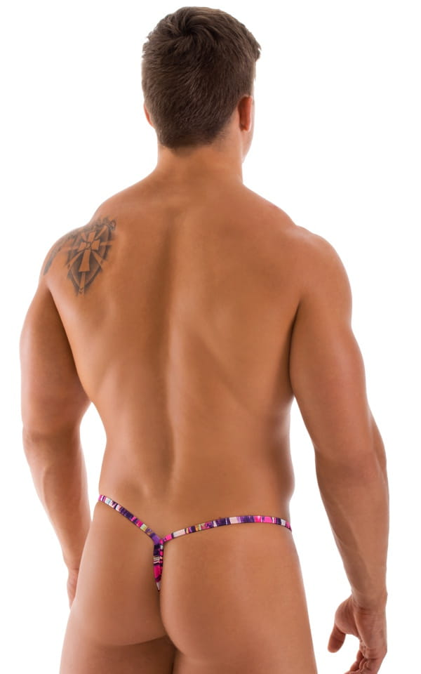 Mens Y Back G String back