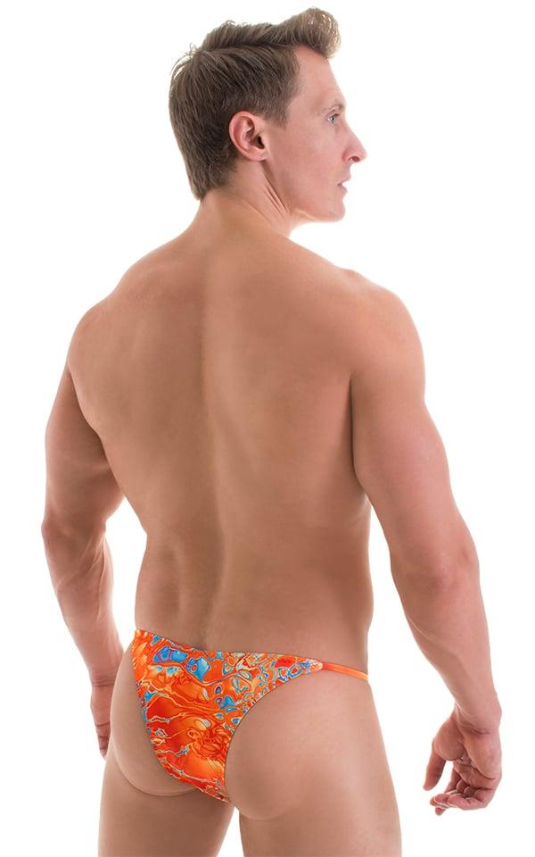 Super Low Brazilian Bikini in Vapor Wave 3
