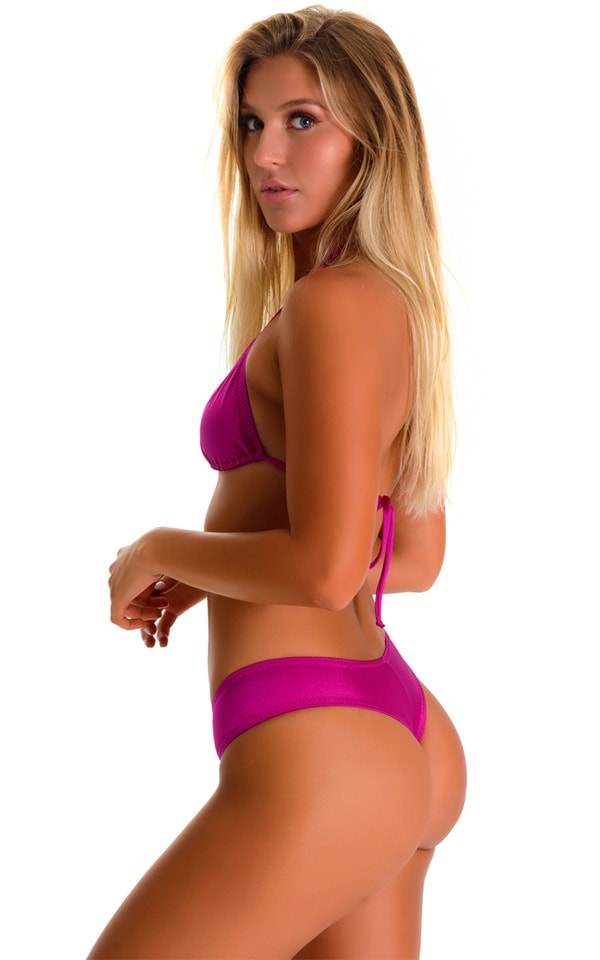 Cheeky Booty Shorts in Magenta 1