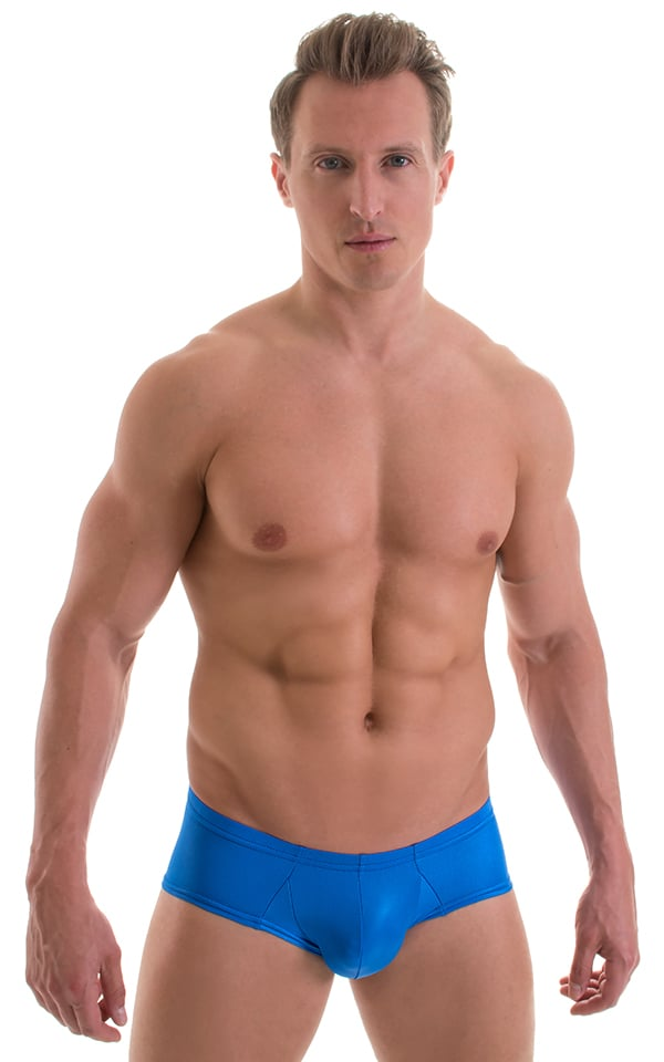 Mens Square Cut Swim Trunks