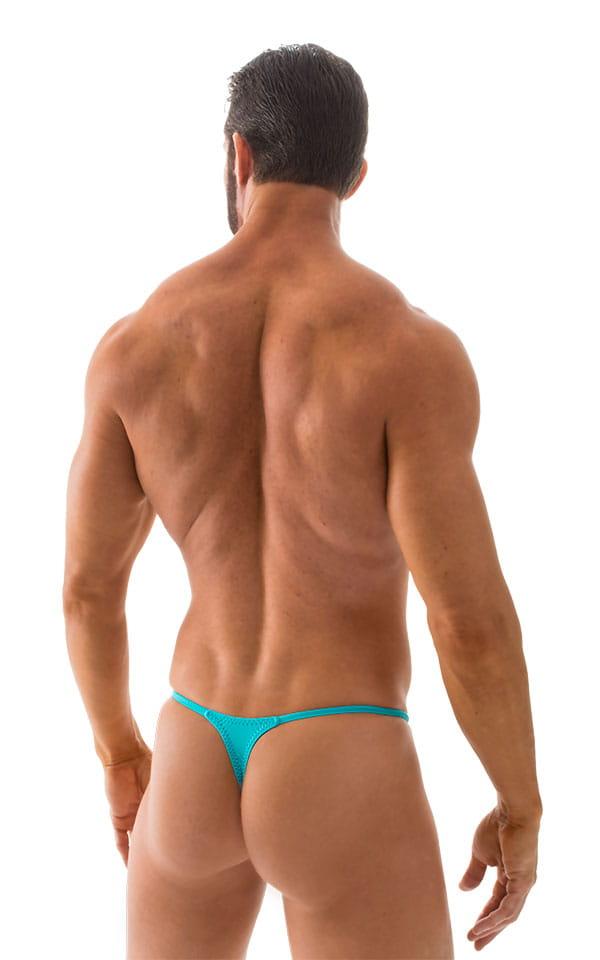621bfed6e7 Bulge Enhanced Pouch Skinny Sides Swim Thong in Matte SeaFoam - PEP Lining  | Skinzwear.com
