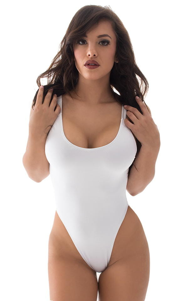 0c9a65514d5 Baywatch One Piece Swimsuit in Optic White