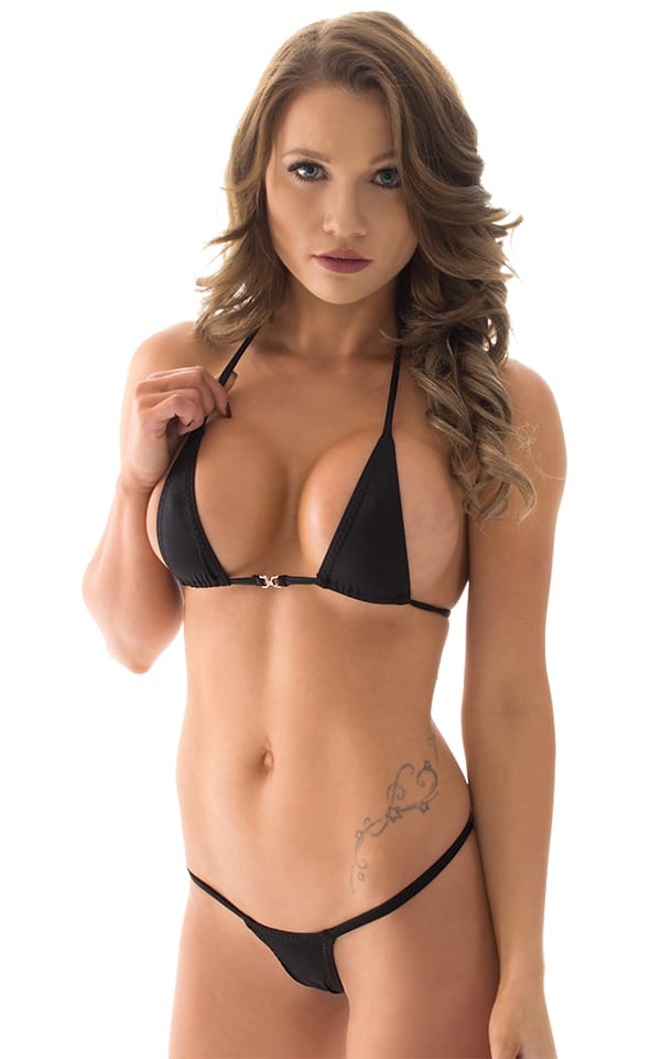 Maximum Tanning Triangle Top in ThinSKINZ Black 1