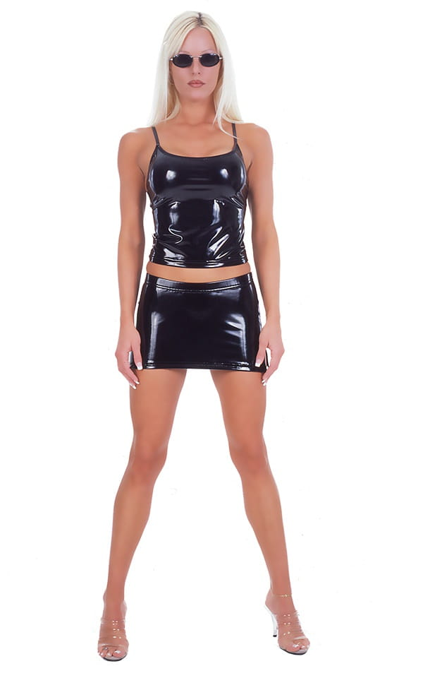 Micro Mini Split Skirt 1