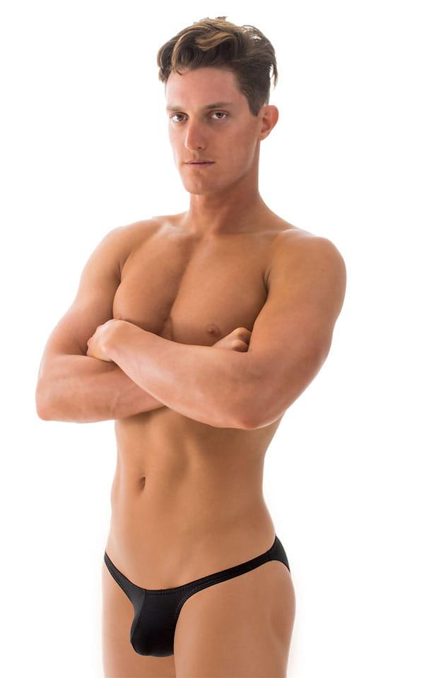 Stuffit Pouch Bikini Swimsuit in ThinSKINZ Black 4