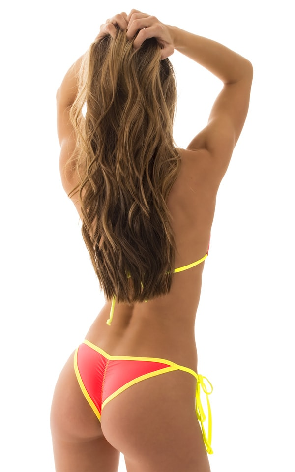 Bikini-Bottom:-Brazilian-1/2-Scrunchie-Butt-Side-Tie-(Banded)Back