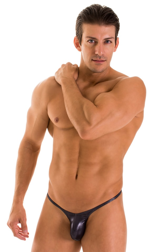 Sunseeker Micro Pouch Half Back Bikini in Ice Karma Nero 1