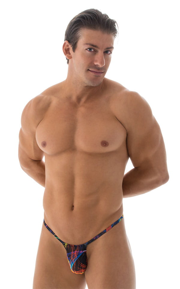 0156dcc0e41c Roman G String Swim Thong in Tan Through RaveUp | Skinzwear.com