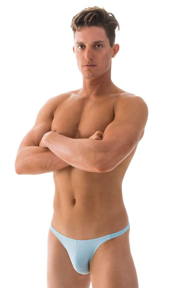 017fe732f635a Fitted Bikini Bathing Suit in Baby Blue | Skinzwear.com