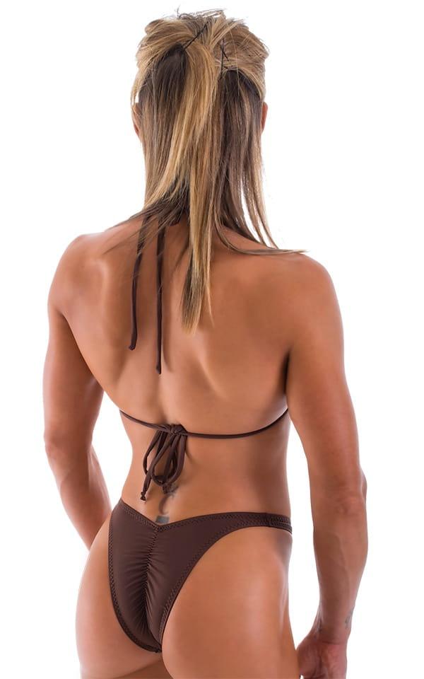 Womens Swimwear High Cut Rio Half Back Bikinis