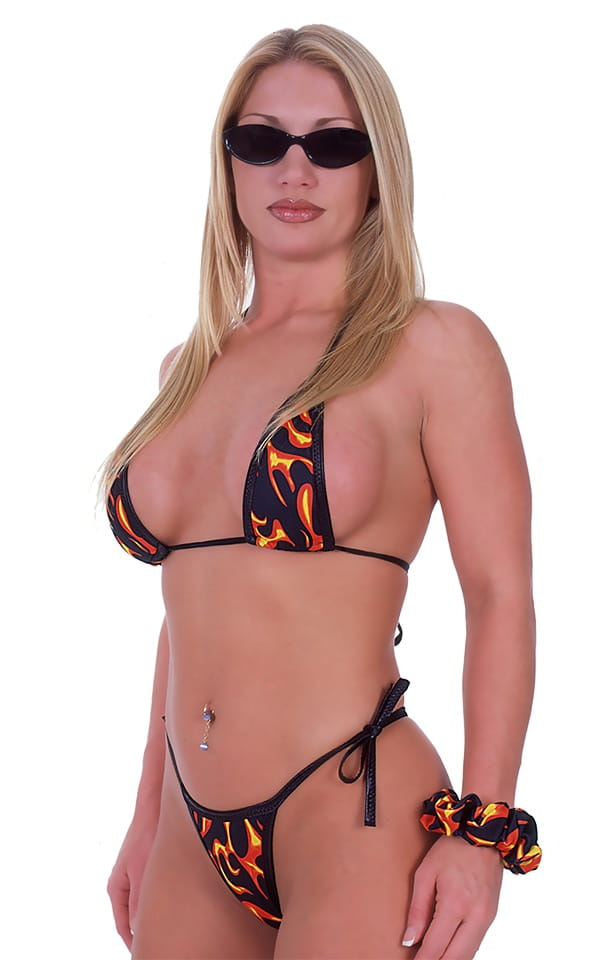 Banded Swimsuit Thong 6