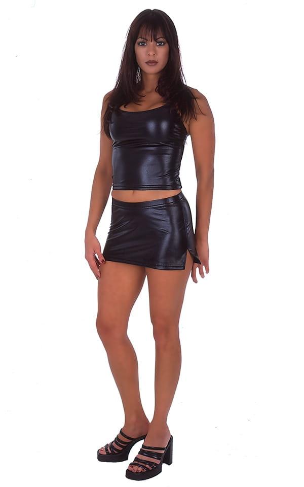 Micro Mini Split Skirt 5