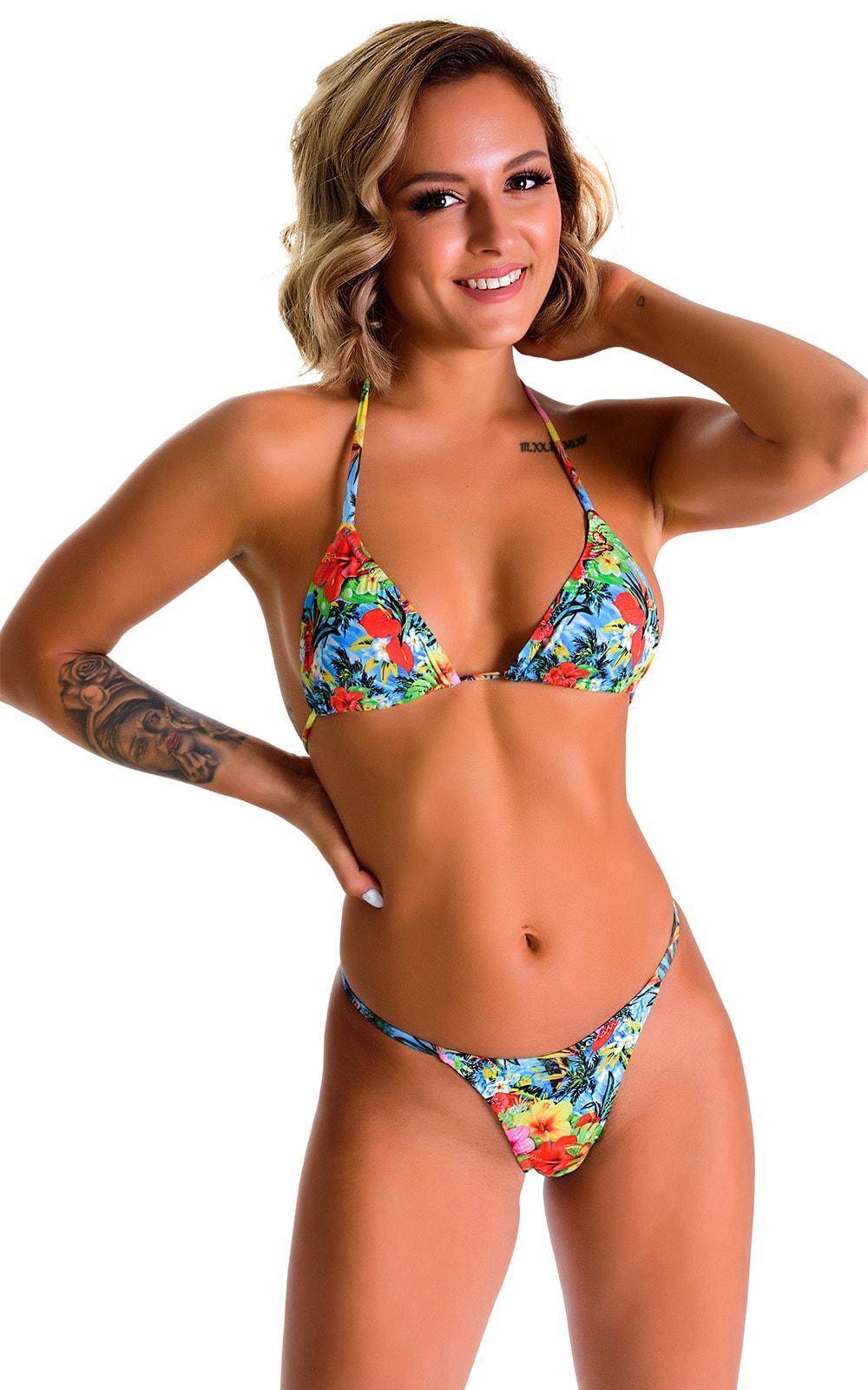 Skinny Side Rio Bikini Bottom in Super ThinSkinz Honolulu 4