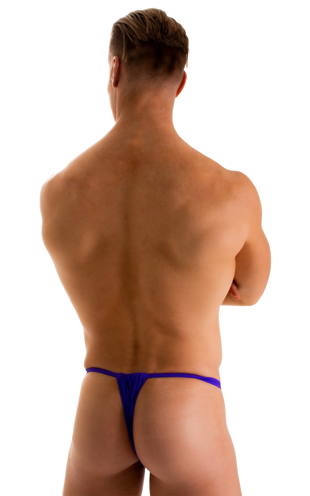 4-Way Adjustable Bikini-Tanga-Micro in Indaco 2
