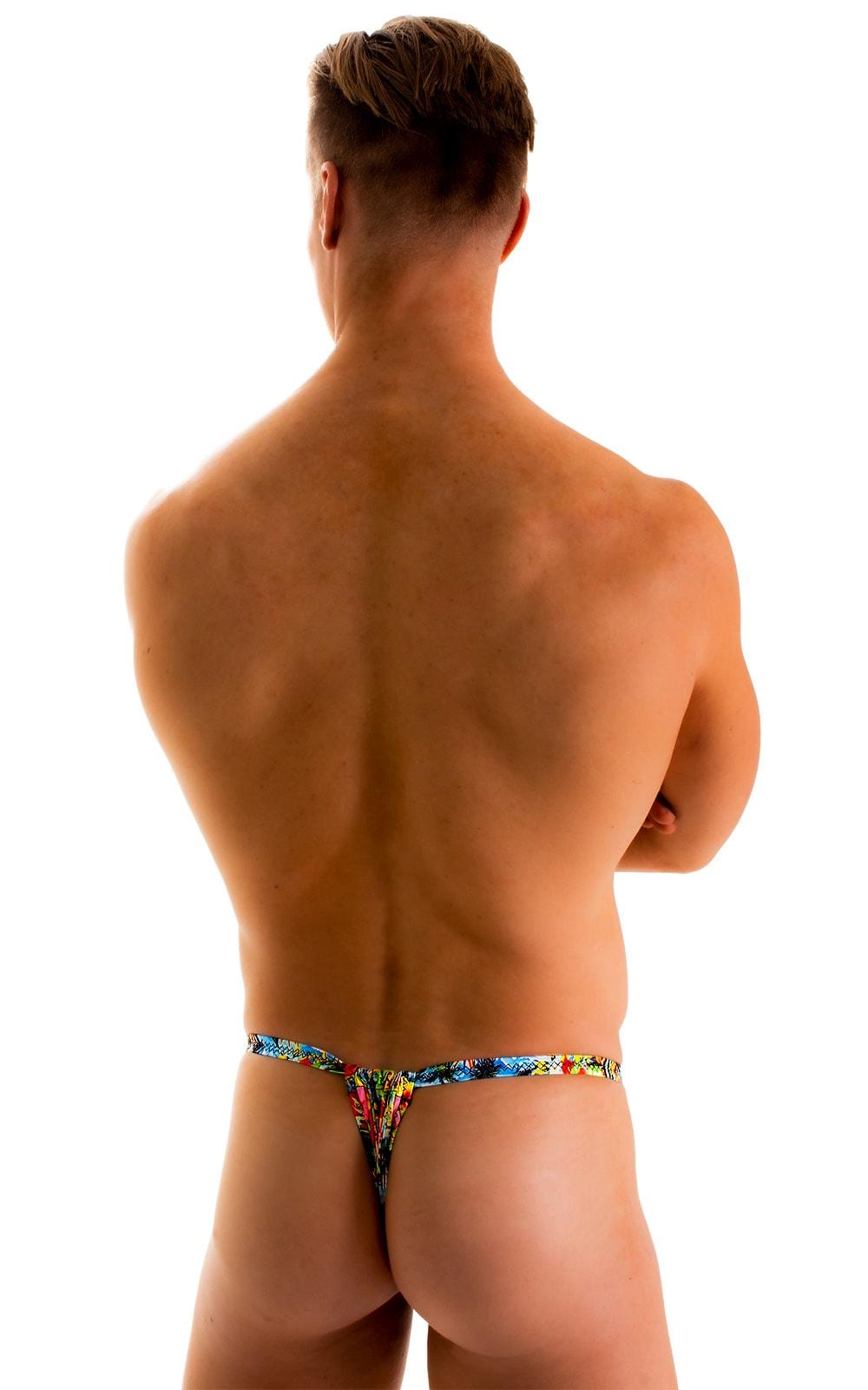 4-Way Adjustable Bikini-Tanga-Micro in Super ThinSKINZ Honolulu 1