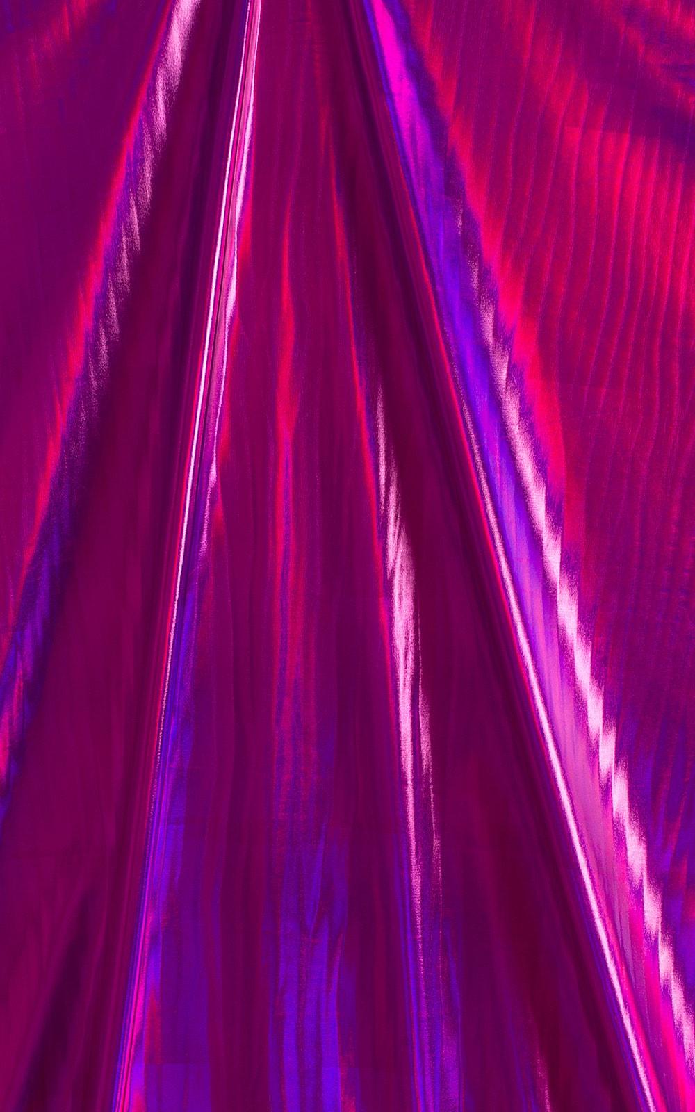 Holographic Metallic Liquid Fuschia 2