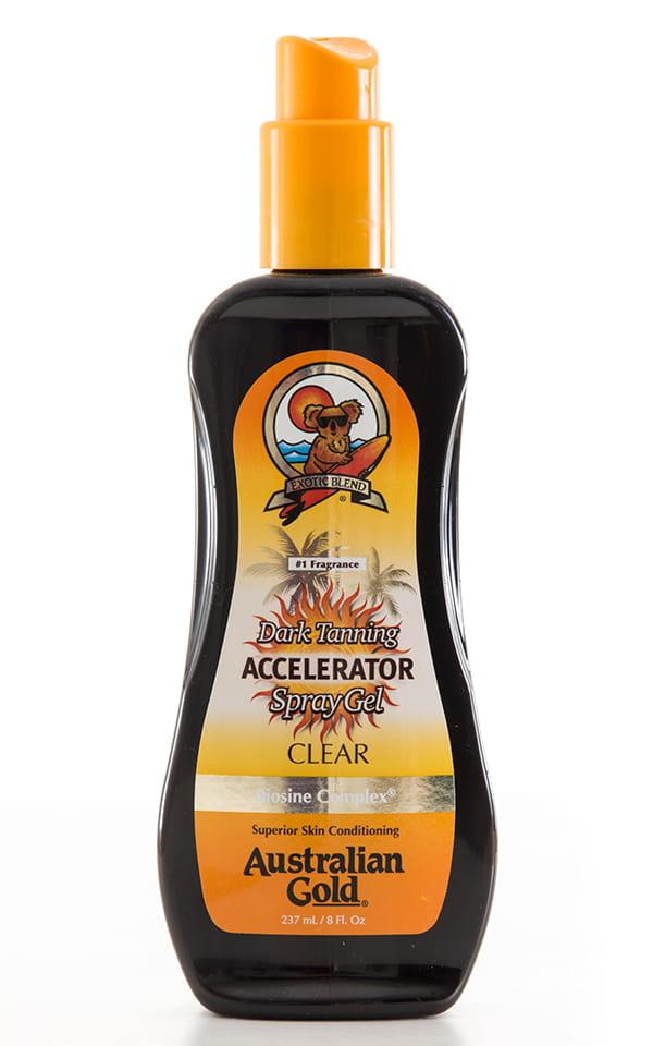 Australian Gold Dark Tanning Accelerator Spray Gel 1