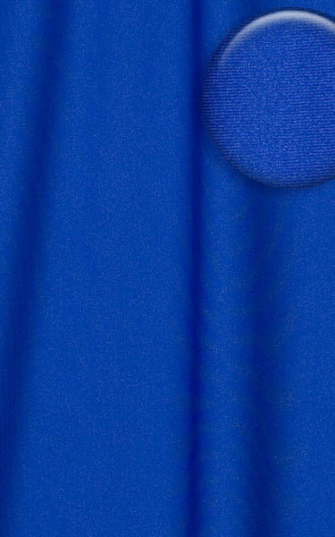 Stuffit Pouch Half Back Tanning Swimsuit in Royal Blue Fabric