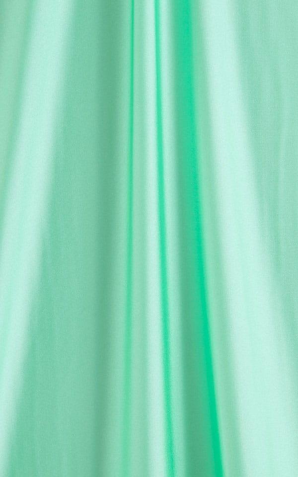 Side Tie Scrunch Bottom in Mint Fabric