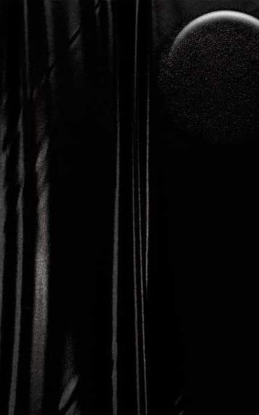 Womens Leggings - Fashion Tights in Metallic Mystique Black Black Fabric