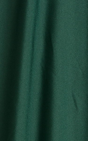 Fitted Pouch - Puckered Back - Posing Suit in Hunter Green Fabric