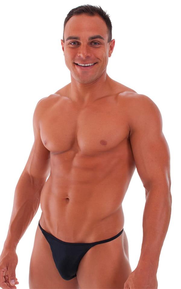 Sunseeker2 Tanning Swimsuit in Black 1