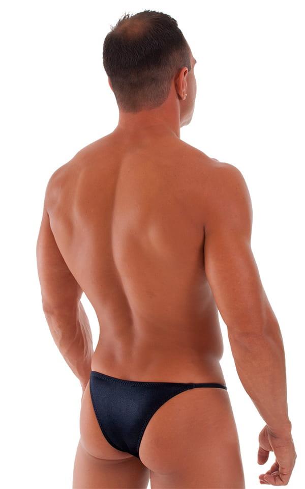 Super Low Brazilian Bikini in Wet Look Black 6