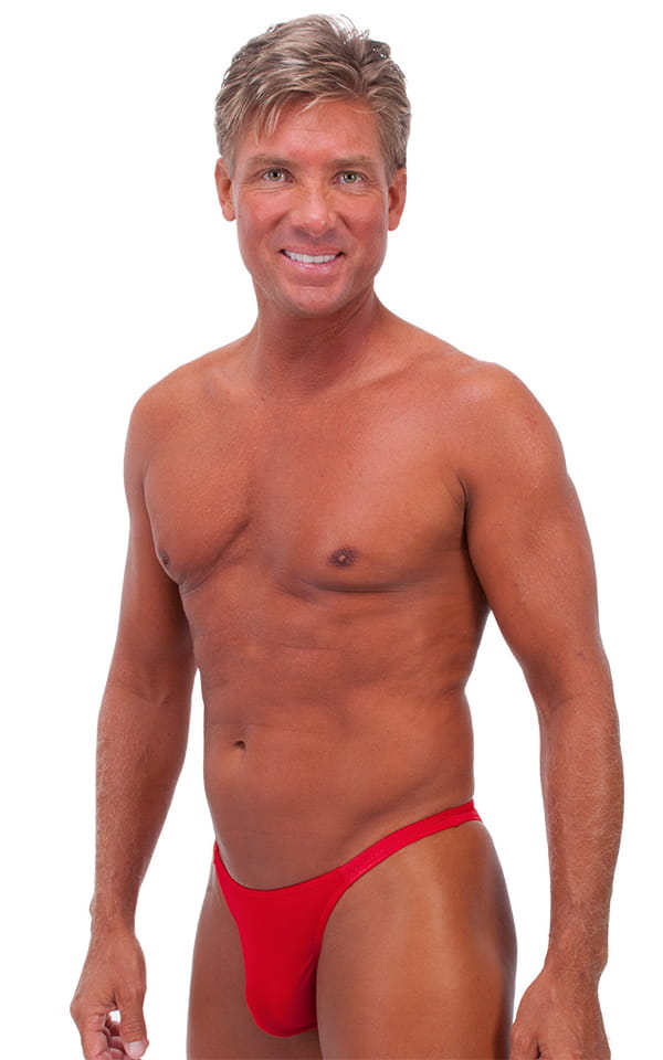 Rio Tanning Bikini Swimsuit in Lipstick Red 1