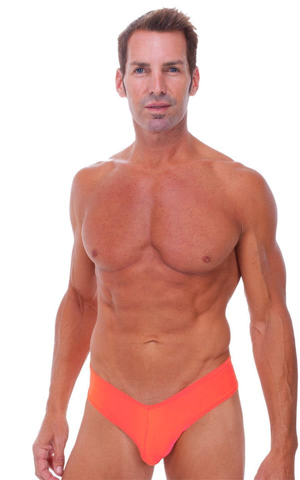 Hot Pants - Sexy Short Shorts in Semi Sheer ThinSKINZ Apricot 1