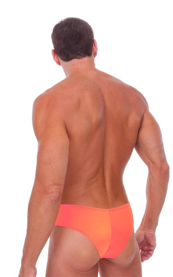 Hot Pants - Sexy Short Shorts in Semi Sheer ThinSKINZ Apricot 3