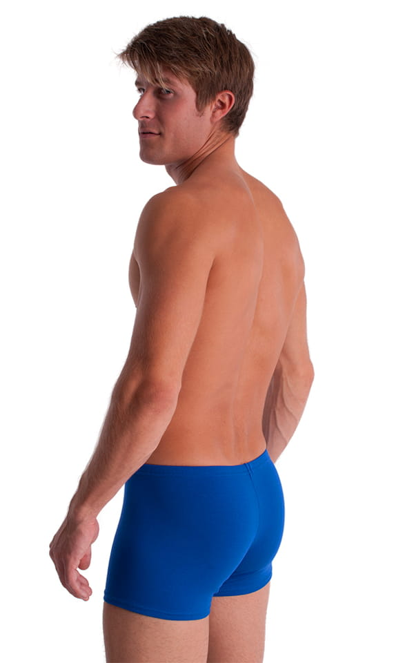 3-Pack - Boxer Length Underwear in Royal Blue cotton/lycra 3