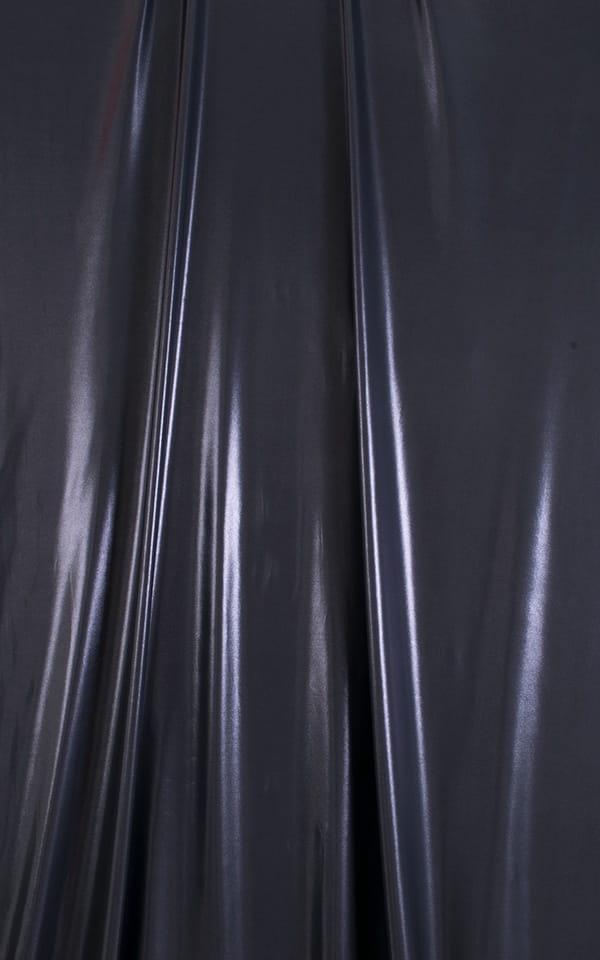 Sleeveless Lycra Muscle Tee in Black Ice Fabric