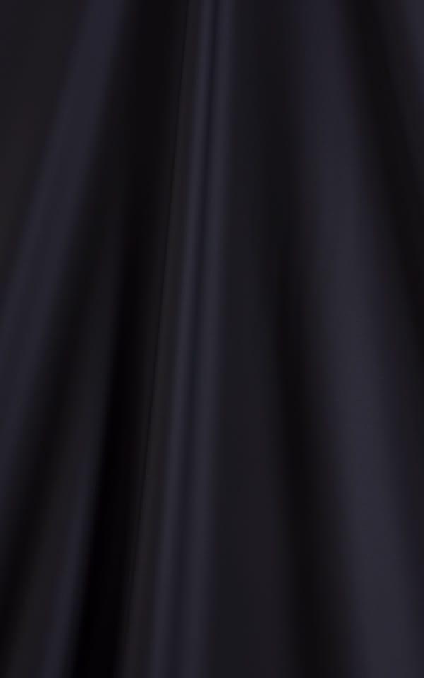 Womens Super Low Rise Fitness Leggings in Black Neoprene Fabric