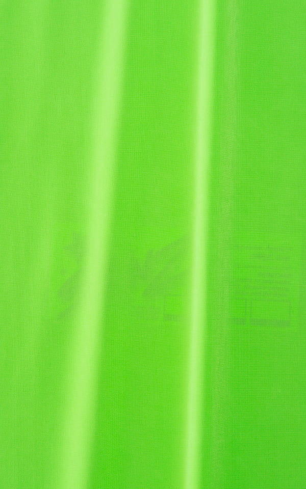 Pouch Enhanced Micro Square Cut Swim Trunks in Semi Sheer Neon Pink Lime Fabric