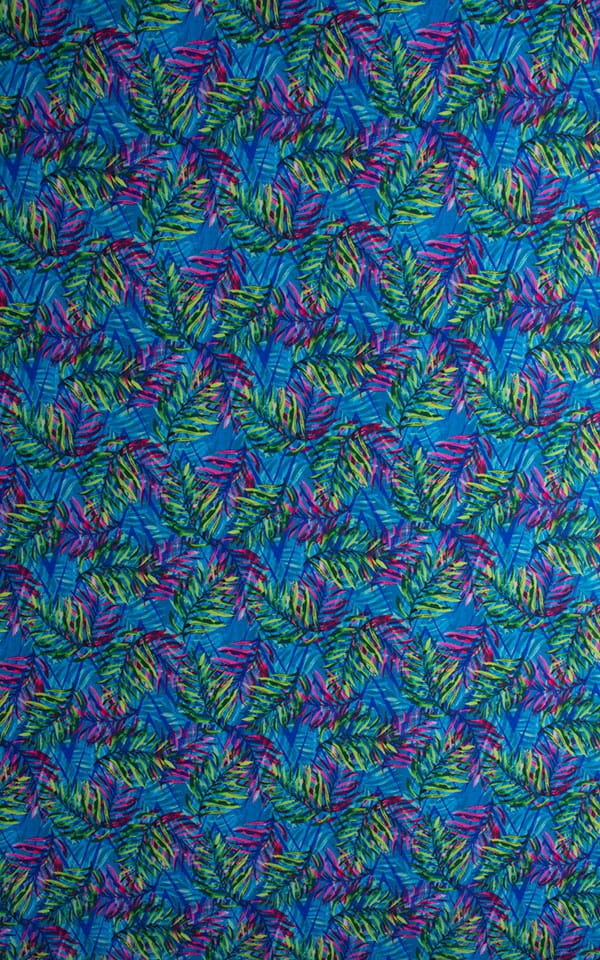 Tan Through Rainforest Fabric