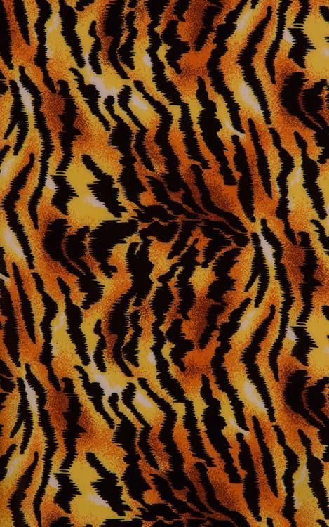 Swim-Dive Competition Brief in Tiger Fabric