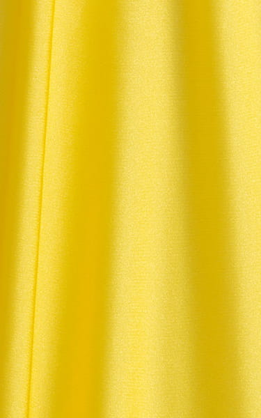 Swimsuit Cover Up Split Running Shorts in Citron Yellow Fabric