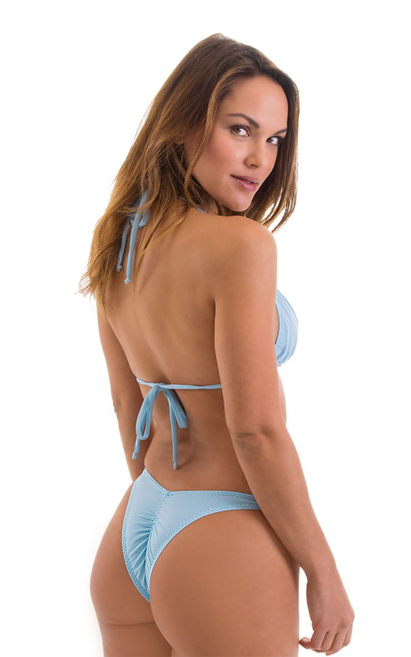 Classic Triangle Top in Baby Blue 3