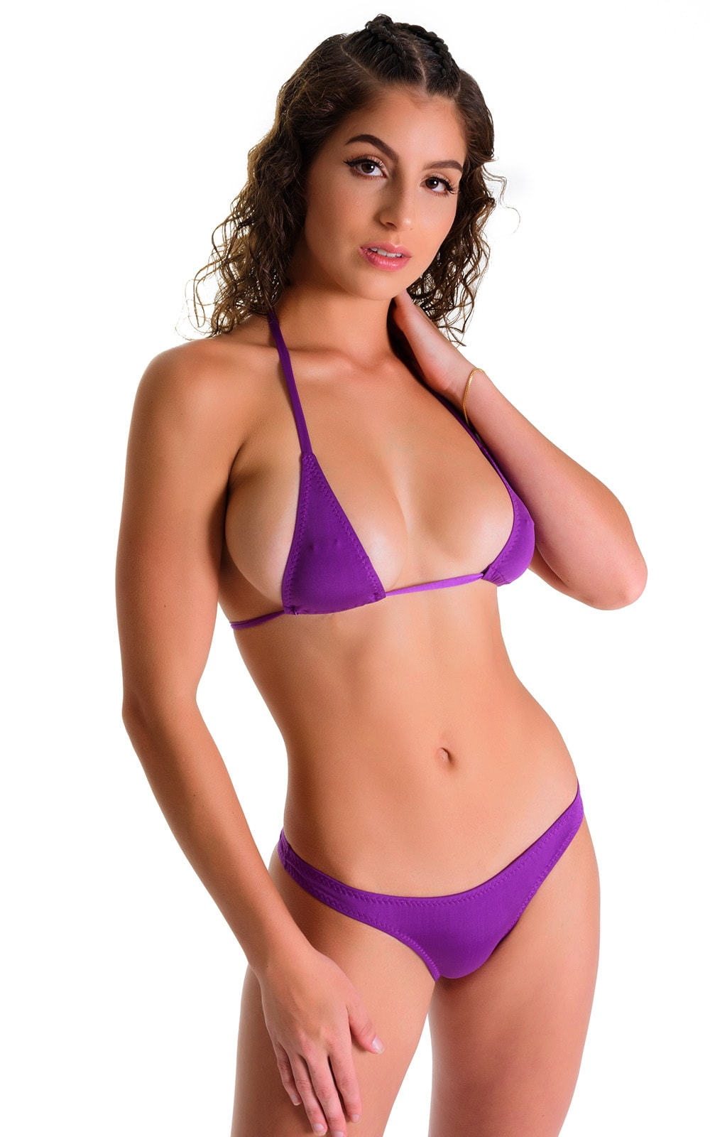 Low T Back Thong Bottom in ThinSKINZ Grape 3