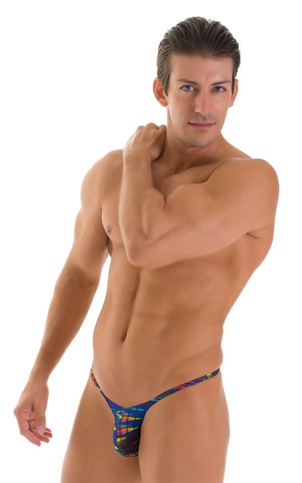 Sunseeker Micro Pouch Half Back Bikini in Tan Through Wavelength 1