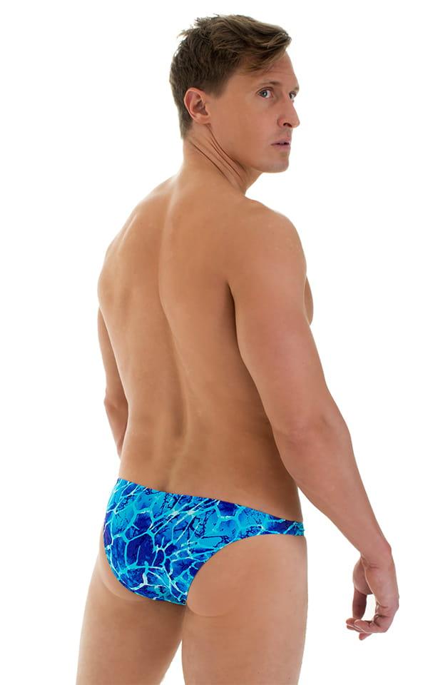 Enhancing Pouch Swim Brief in New World Blue 3