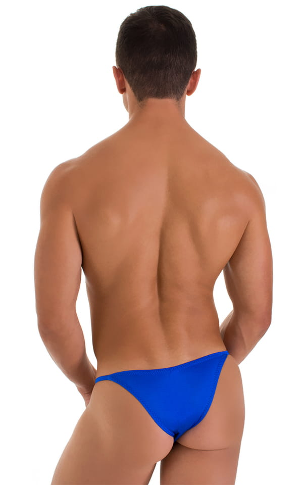 Stuffit Pouch Half Back Tanning Swimsuit in Royal Blue 3