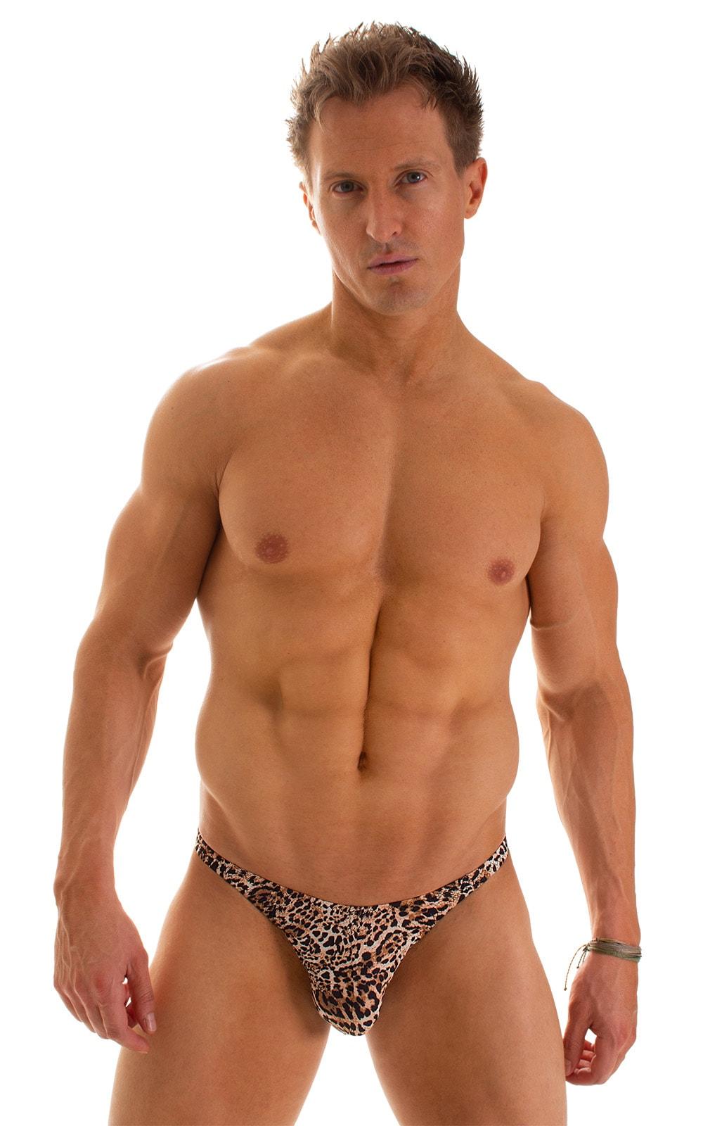 Fitted Bikini Bathing Suit in Super ThinSKINZ Cheeta 1