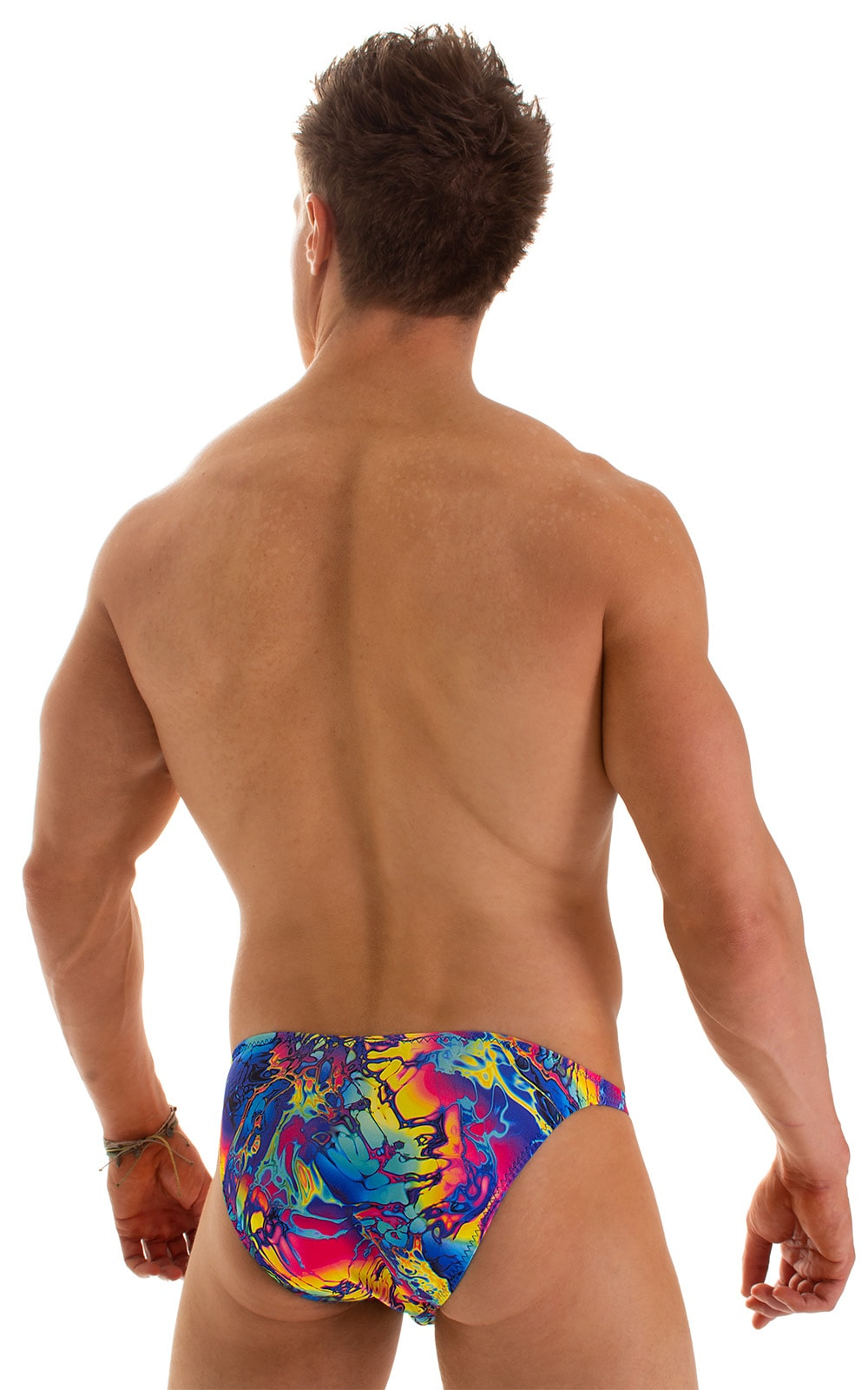 Fitted Bikini Bathing Suit in Mind Vision Rainbow 2