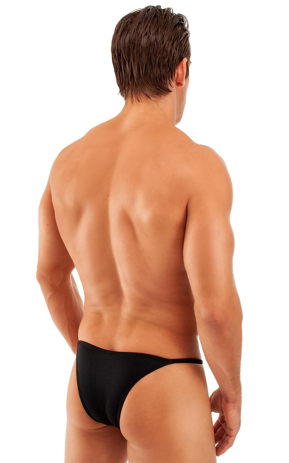 Super Low Brazilian Bikini in Black 3