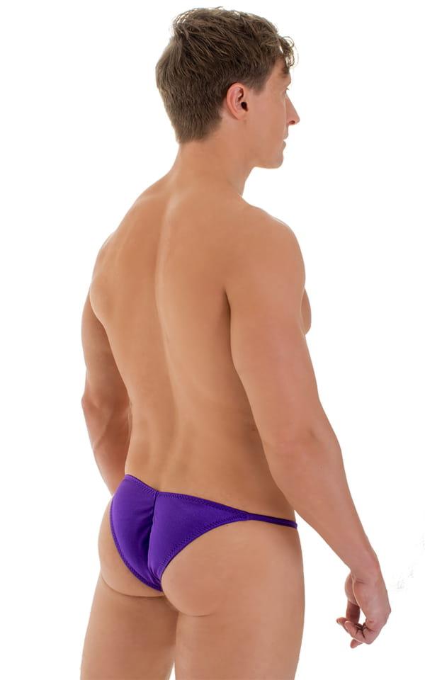 Micro Pouch - Puckered RIO Back in Purple 3