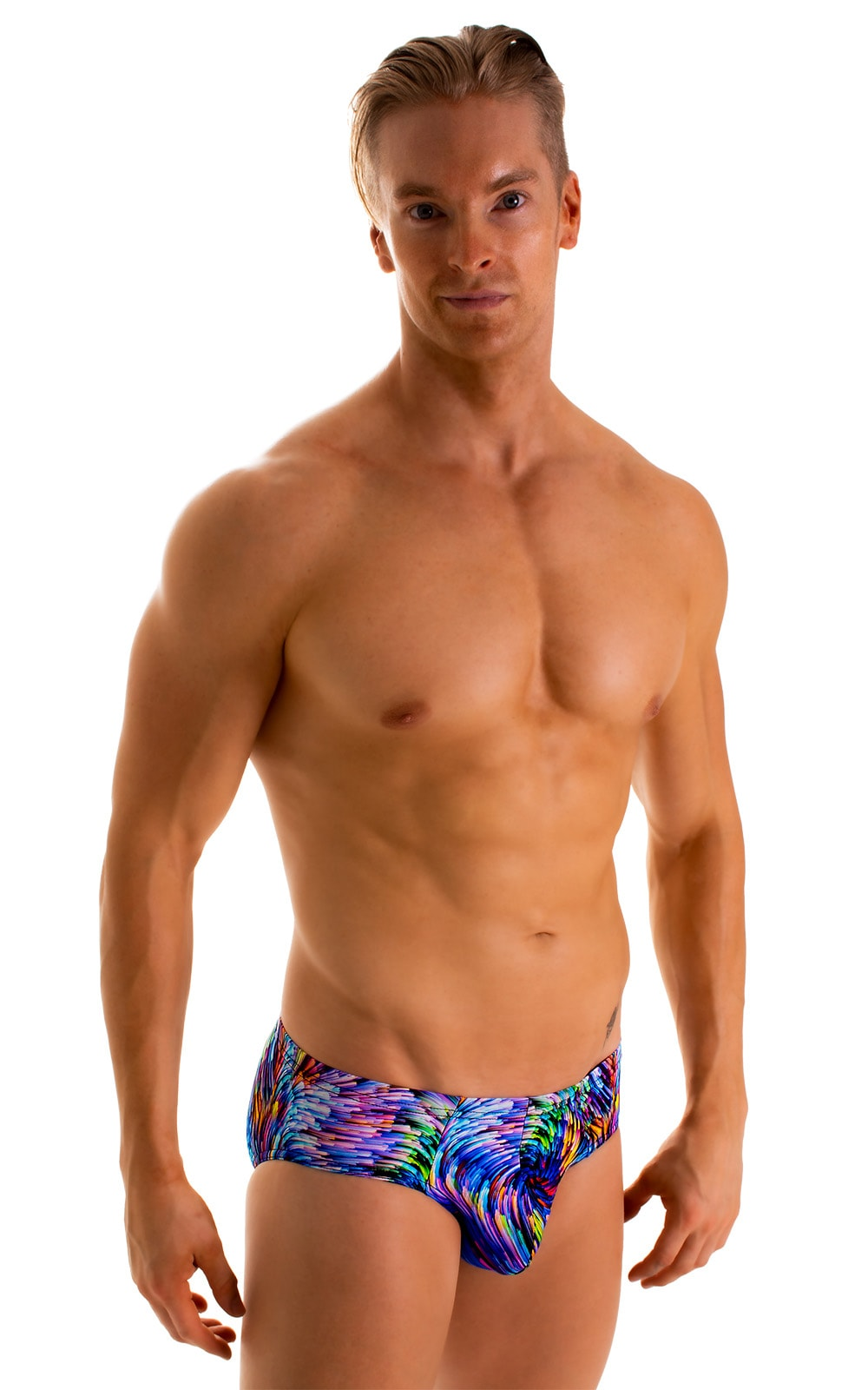 Pouch Brief Swimsuit in Illumine 1