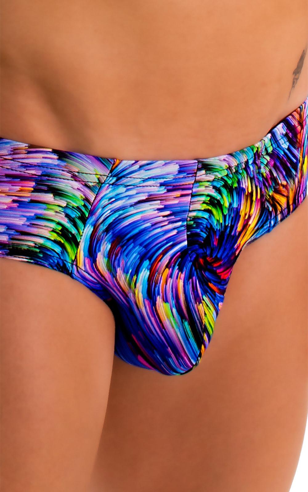 Pouch Brief Swimsuit in Illumine 3